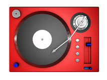 3d record player Royalty Free Stock Image