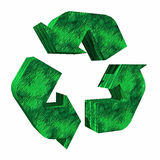 3d Recycle Logo Royalty Free Stock Photos