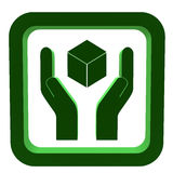 3D Recycle Symbol Royalty Free Stock Image