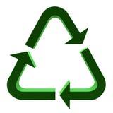 3D Recycle Symbol Royalty Free Stock Photos