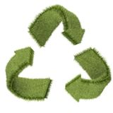 3D recycling symbol Royalty Free Stock Photo