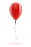 3d red balloon Stock Photography