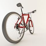 3d red bicycle. Stock Images