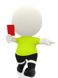 3D Red card Stock Photos