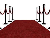 3d Red Carpet Royalty Free Stock Photo