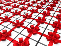 3d red gift Royalty Free Stock Photo