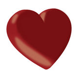3d Red Heart Royalty Free Stock Photos