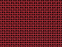 3D red plastic net. Abstract patern-black background eye catching stock illustration
