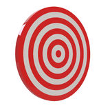 3d red target Stock Images