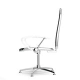 3d reflective chair Stock Photography