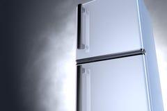 3D refrigerador - ascendente próximo Foto de Stock Royalty Free