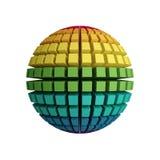 3d regenbooggebied Vector Illustratie
