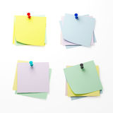 3d reminder paper Royalty Free Stock Photo