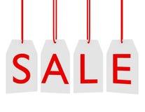 3d rendem de Tag de suspensão da venda Fotos de Stock