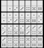 3d rendem de um jogo dos dominós Fotografia de Stock