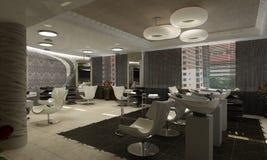 3d rendem de um projeto moderno de interior.exclusive Fotografia de Stock Royalty Free