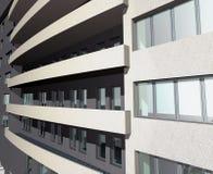 3D rendem do edifício de casa moderno Fotografia de Stock