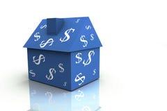 3D rendem o conceito dos bens imobiliários Fotos de Stock