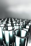 3D rendent des tubes à essai Photographie stock libre de droits