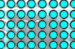 3D rendent des tubes à essai Image stock
