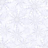 3d Render of a Backgtound of Snowflakes Royalty Free Stock Photo