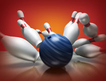 3d render of a bowling Stock Photos