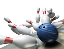 3d render of a bowling Royalty Free Stock Images