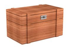 3d render of chest Royalty Free Stock Photo