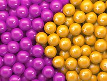 Free 3d Render Colorful Balls, Abstract Background Stock Images - 144211624
