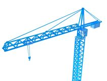 3D Render of crane Stock Photos