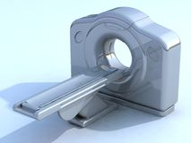 3d render ct or cat scanner Stock Images
