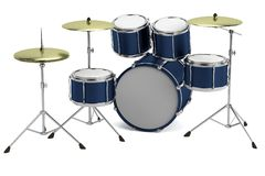 3d render of drumset Royalty Free Stock Photography