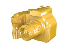 3d render of DSLR camera Royalty Free Stock Images