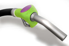 A 3D render of a gas pump nozzle Royalty Free Stock Photo