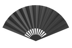 3d render of hand fan Stock Photo