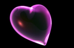 A 3D render of a Heart Royalty Free Stock Photo