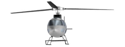 3d render of helicopter Stock Photography