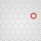 3d Render of an Hexagonal Background. 3d Render of an Abstract Hexagonal Background Stock Images