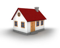 3D render of a house Stock Images