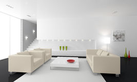 3d render interior Royalty Free Stock Images