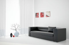 3d render interior Stock Photo