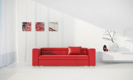 3d render interior Royalty Free Stock Photography