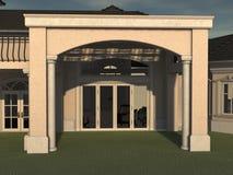 3D Render Lanai Royalty Free Stock Image