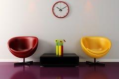 3d render of a modern interior design . Stock Image