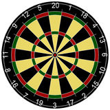 3d Render Of A Dartboard Stock Image