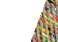 3d render of pencil in different colors Royalty Free Stock Photography