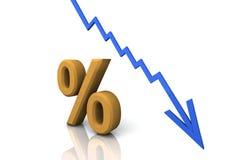 3D Render Percentage Sign stock photos