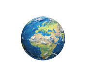 3D render of planet Earth stock photos
