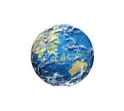 3D render of planet earth Royalty Free Stock Image