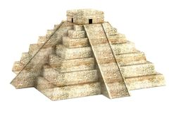 3d render of pyramide Royalty Free Stock Photo